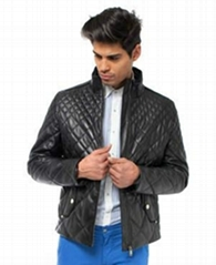 Valeriano Romano Leather Jacket 2014 Collection
