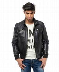 Turkish Leather jacket Valeriano Romano 2014