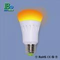 RGB smartphone control LED bulb light  5