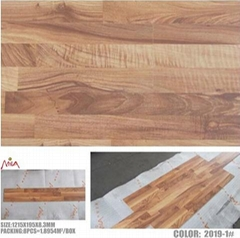 Apple wood laminate flooring 2019-1# embossed series