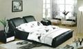 LB4254J-UK Modern Leather Beds