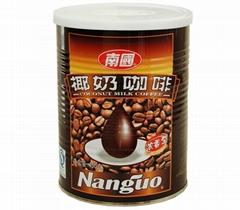 南國食品椰奶咖啡濃香 450g/罐