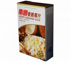 南国食品香脆椰子片 80g/盒