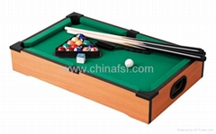 Mini Table Top Billiard Game Table Pool Table With Customized Sticker