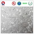 Flame retardant PC Transparent low halogen  raw material pc  FR PC resins 2