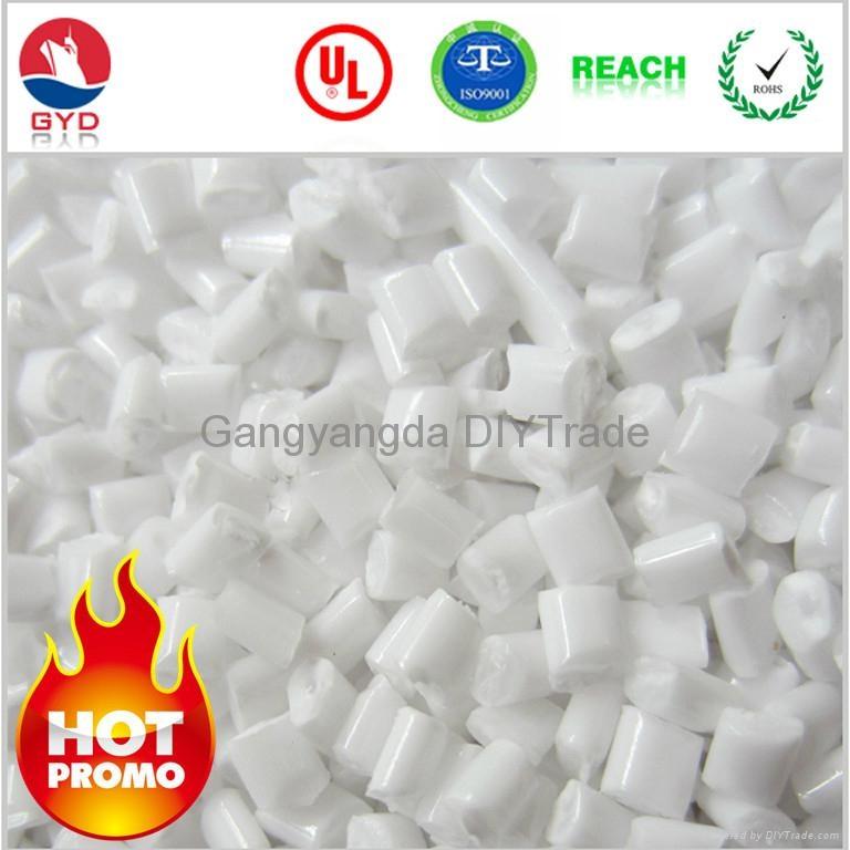 Flame retardant PC Transparent low halogen  raw material pc  FR PC resins 3