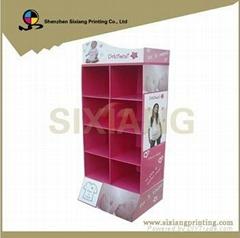 Custom Products Cardboard Counter Display Rack