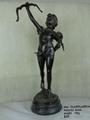 Arts Crafts Cupid Statue