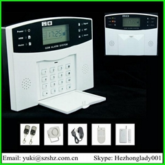 Wireless Intelligent home security GSM