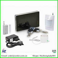SMS and voice reminding GSM alarm system