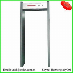 Single zone Metal detector door HZ-1