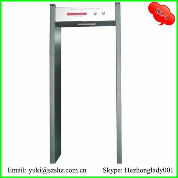 Single zone Metal detector door HZ-1 1