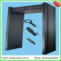 6 zones metal detector security gates