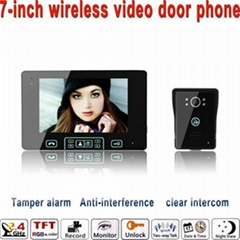 Looking for sole agent for newest distinctive wireless viedo door phone