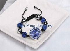 Sapphire Crystal Shamballa Watch Bracelets Wholesale Shamballa Bead Bracelet as