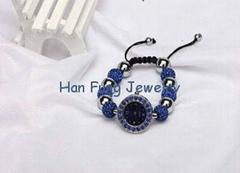 USA Style Sapphire Crystal Shamballa Watch Bracelet Wholesale Fashion Shamballa
