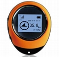 Handheld Keychain Mini GPS Navigation USB Rechargeable For Outdoor Sport Tr 1