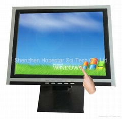 "15"" Single / Multi LCD Touch Screen Monitor"