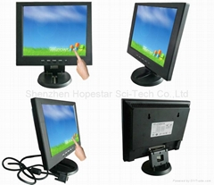 "12"" POS Touch Screen LCD Monitor"