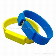 Bracelet usb flash drive gift usb