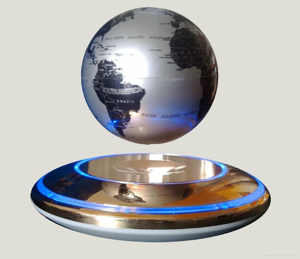 10CM磁懸浮地球儀 1