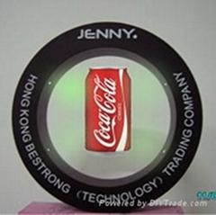 圓形廣告展示架
