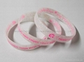 Bulk  cheap custom silicone wristband for promotion 2
