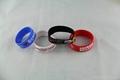 Bulk  cheap custom silicone wristband for promotion 3