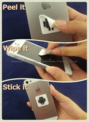 High quality silicone sticky mobile phone screen cleaner