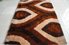 100% polyester shaggy Carpet/Rug