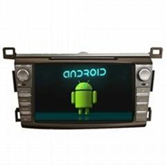 Car GPS DVD Media Player TOYOTA 2014 RVA4 Navigation iPod 3G Wifi BT Hebrew TV