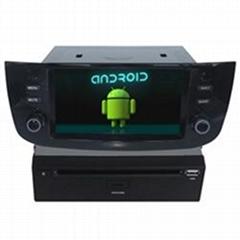 Blue&Me Fiat Linea Punto Car Navigation Bluetooth Name Search Arabic Radio DVD