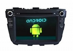 Android Wifi 3G iPod KIA Sorento 2013 Car Navigation DVD Player GPS Bluetooth TV
