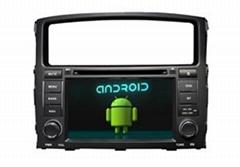 Rockford Fosgate Android Car Navigation MITSUBISHI Pajero/Montero DVD Dual Zone
