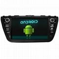 SUZUKI 2014 SX4 Android Car DVD GPS