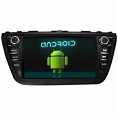SUZUKI 2014 SX4 Android Car DVD GPS Bluetooth Hand-free ISDB-T DVB-T ATSC 1080P