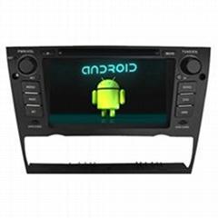 6-CD Virtual BMW 3 Car DVD Media Player GPS Navigation Wifi Touch Screen 1080P