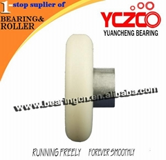 smoothly sliding door hanging rollers wheels