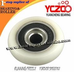 plastic sliding door hanging bearing wheel