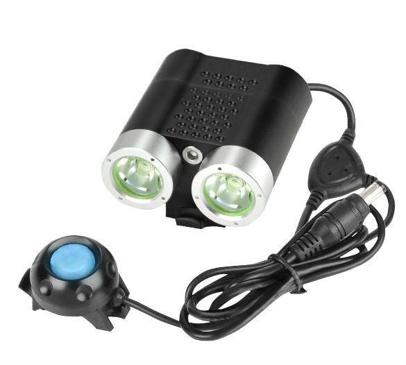 Newest Product Waterproof LED 2200lm Battery Operated Bike Light SG-N2200 4