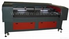 The flexible fabric laser cutting machine