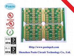 PCB with bule soldermask