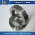 gr2 gr5 6al4v titanium ring stock hot sale