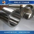ASTM B381 grade 3 titanium ring