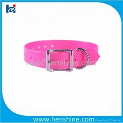 sport polyurethane coated nylon dog collar