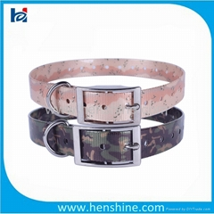 durable fashion Camo Dog Collar