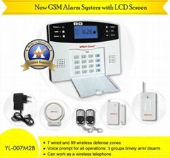 Home Automation gsm wireless home burglar security alarm system