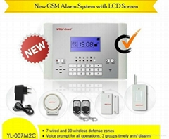 Home Automation GSM Wireless Home Guard Anti Intrusion Safety Alarm System