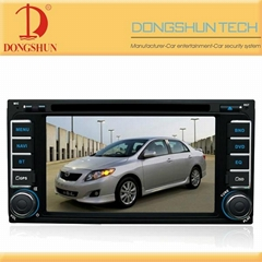 6.2 inch toyota universal car dvd with gps