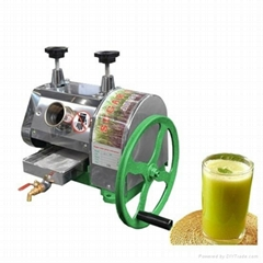 Manual sugarcane juicer